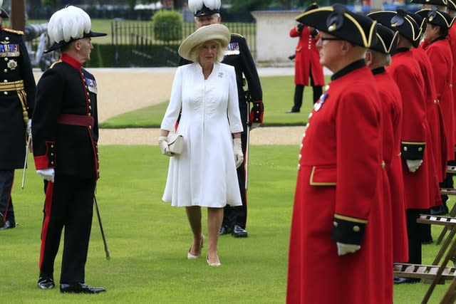 Royal visit to the Royal Hospital Chelsea