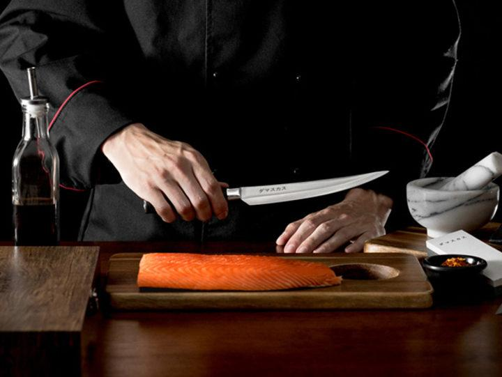Damasukasu knives remain as sharp as the first cut. (Photo: Yahoo Lifestyle Shop)