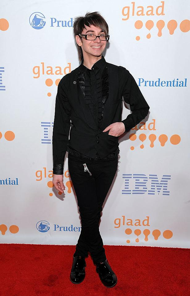 "Most people can't pull off a ruffled shirt, patent leather shoes, and a strategically placed zipper like ""Project Runway"" winner Christian Siriano can. Dimitrios Kambouris/<a href=""http://www.wireimage.com"" target=""new"">WireImage.com</a> - March 28, 2009"