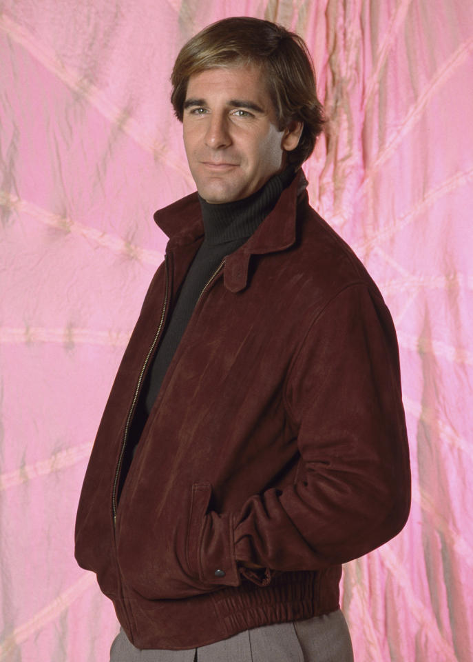"""<span style=""""font-weight:bold;"""">Scott Bakula</span> as Sam Beckett, """"Quantum Leap"""" (1989-1993)<br><br>Outstanding Lead Actor in a Drama Series<br><br>0 wins, 4 consecutive nominations (1989-1993)"""