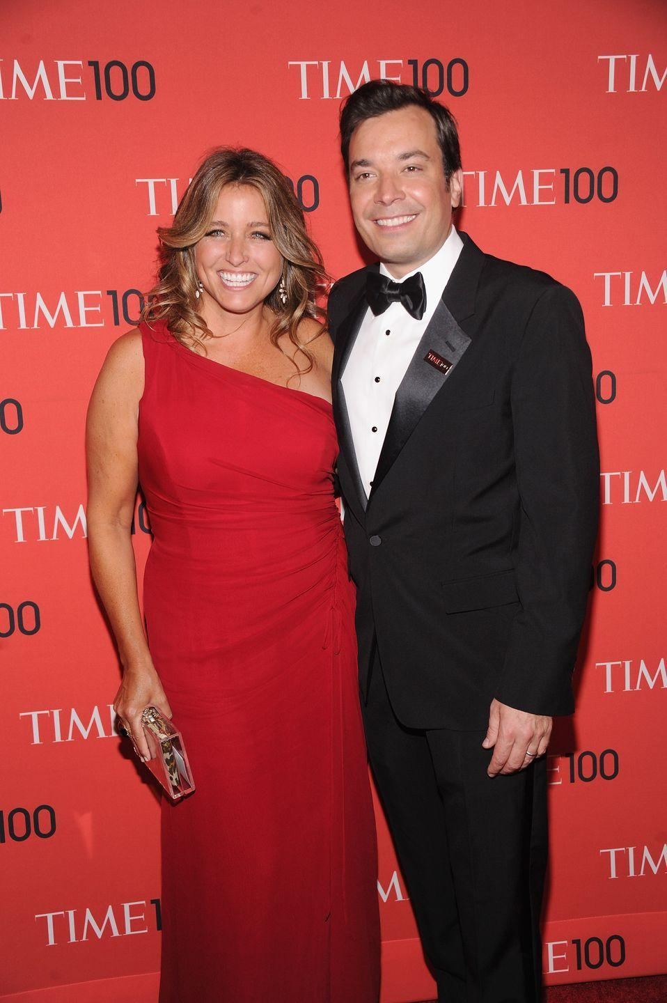 <p>Jimmy Fallon married Nancy Juvonen, a film producer and co-founder of Drew Barrymore's Flower Films, in 2007. The couple shares two daughters.</p>
