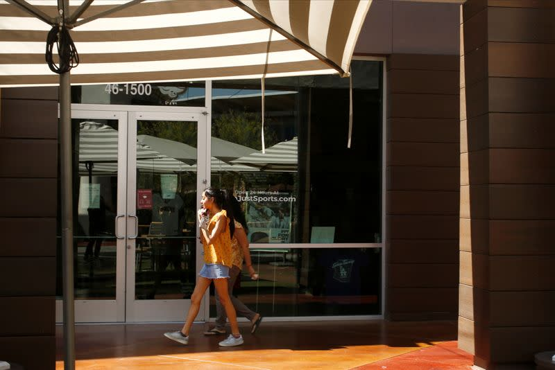 Retail stores open during the phased reopening from coronavirus disease restrictions in Cave Creek