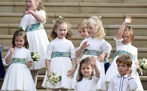 Bridesmaids and pageboys - Credit: Getty