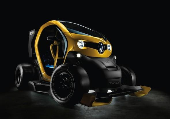 F1-inspired Renault Twizy revealed