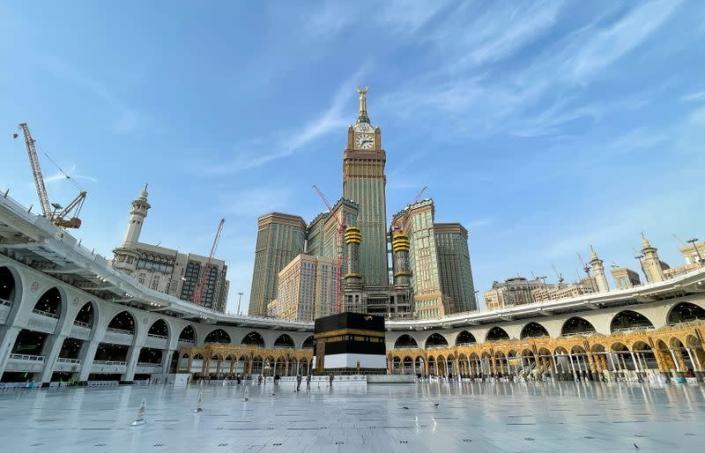 General view of Kaaba in the Grand Mosque during the annual Haj pilgrimage, in the holy city of Mecca