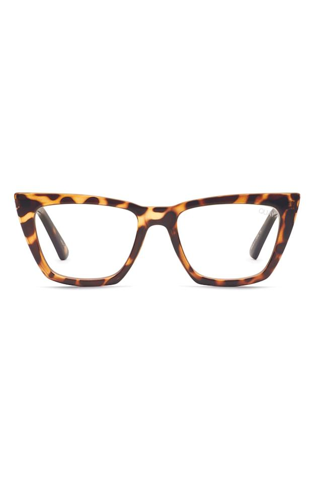"""<p>These <a href=""""https://www.popsugar.com/buy/Quay-Australia-Dont-Me-Blue-Light-Blocking-Optical-Glasses-547697?p_name=Quay%20Australia%20Don%27t%20At%20Me%20Blue%20Light%20Blocking%20Optical%20Glasses&retailer=shop.nordstrom.com&pid=547697&price=39&evar1=savvy%3Aus&evar9=45742093&evar98=https%3A%2F%2Fwww.popsugar.com%2Fsmart-living%2Fphoto-gallery%2F45742093%2Fimage%2F47191717%2FQuay-Australia-Dont-At-Me-Blue-Light-Blocking-Optical-Glasses&list1=tech%2Cdigital%20life%2Cglasses%2Cscreen%20time%2Chealthy%20living%20tips%2Chealth%20and%20wellness&prop13=mobile&pdata=1"""" rel=""""nofollow"""" data-shoppable-link=""""1"""" target=""""_blank"""" class=""""ga-track"""" data-ga-category=""""Related"""" data-ga-label=""""https://shop.nordstrom.com/s/quay-australia-dont-at-me-53mm-blue-light-blocking-optical-glasses/5435927/full?origin=keywordsearch-personalizedsort&amp;breadcrumb=Home%2FAll%20Results&amp;color=tort%2F%20clear%20blue%20light"""" data-ga-action=""""In-Line Links"""">Quay Australia Don't At Me Blue Light Blocking Optical Glasses</a> ($39, originally $65) are adorable.</p>"""