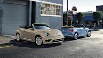 """<p><strong>VW: Beetle, Golf SportWagen, Golf Alltrack</strong></p> <p>Volkswagen broke our hearts 2019, eliminating <a href=""""https://www.autoblog.com/2019/07/10/vw-beetle-mexico/"""" data-ylk=""""slk:the Beetle"""" class=""""link rapid-noclick-resp"""">the Beetle</a> from the brand's lineup. Not only that, but it also took away two wagons. The <a href=""""https://www.autoblog.com/2019/07/17/2019-vw-golf-sportwagen-alltrack-dead/"""" data-ylk=""""slk:Golf SportWagen and Golf Alltrack"""" class=""""link rapid-noclick-resp"""">Golf SportWagen and Golf Alltrack</a> are both vehicles we'd recommend to anyone open to the idea of a longroof, but now they're going away for 2020. We can thank the Mk8 Golf's appearance onto the scene for this snub, but even the regular Golf hatchback is questionable for U.S. consumption — we know <a href=""""https://www.autoblog.com/2019/11/26/vw-gti-spied-mk-8/"""" data-ylk=""""slk:the GTI"""" class=""""link rapid-noclick-resp"""">the GTI</a> and <a href=""""https://www.autoblog.com/2019/08/07/vw-golf-r-hiatus-post-2019-model/"""" data-ylk=""""slk:Golf R"""" class=""""link rapid-noclick-resp"""">Golf R</a> will be arriving eventually, though. </p> <p>We wrote <a href=""""https://www.autoblog.com/2019/07/13/volkswagen-beetle-goodbye/"""" data-ylk=""""slk:an ode to the Beetle"""" class=""""link rapid-noclick-resp"""">an ode to the Beetle</a> when the news was announced. And we also went <a href=""""https://www.autoblog.com/2018/11/30/2019-vw-beetle-final-edition-review/"""" data-ylk=""""slk:down to Mexico to drive the last one"""" class=""""link rapid-noclick-resp"""">down to Mexico to drive the last one</a>. It may be a flawed vehicle in some ways, but there's no making up for the history and personality that comes along with the name and shape of Volkswagen's most iconic car.</p>"""