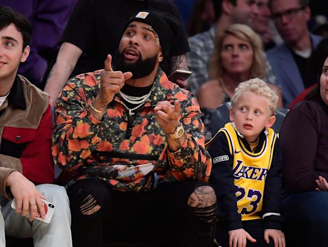 "<a class=""link rapid-noclick-resp"" href=""/nfl/players/27540/"" data-ylk=""slk:Odell Beckham Jr."">Odell Beckham Jr.</a> has yet to speak to his new coach, but Freddie Kitchens knows exactly what he'll say when they do meet. (AP)"