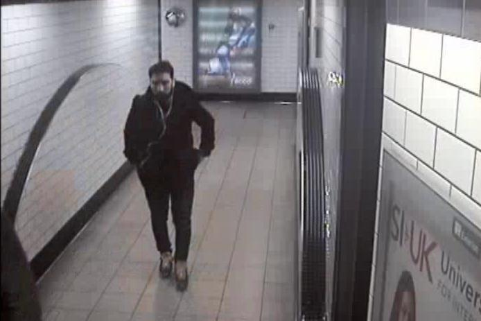 CCTV has been released after the incident in February