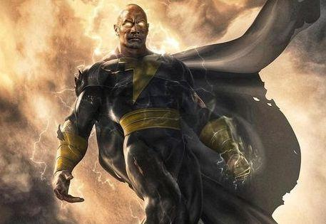Concept art for the new 'Black Adam' movie starring Dwayne Johnson as Shazam's nemesis (Photo: Dwayne Johnson/Instagram)