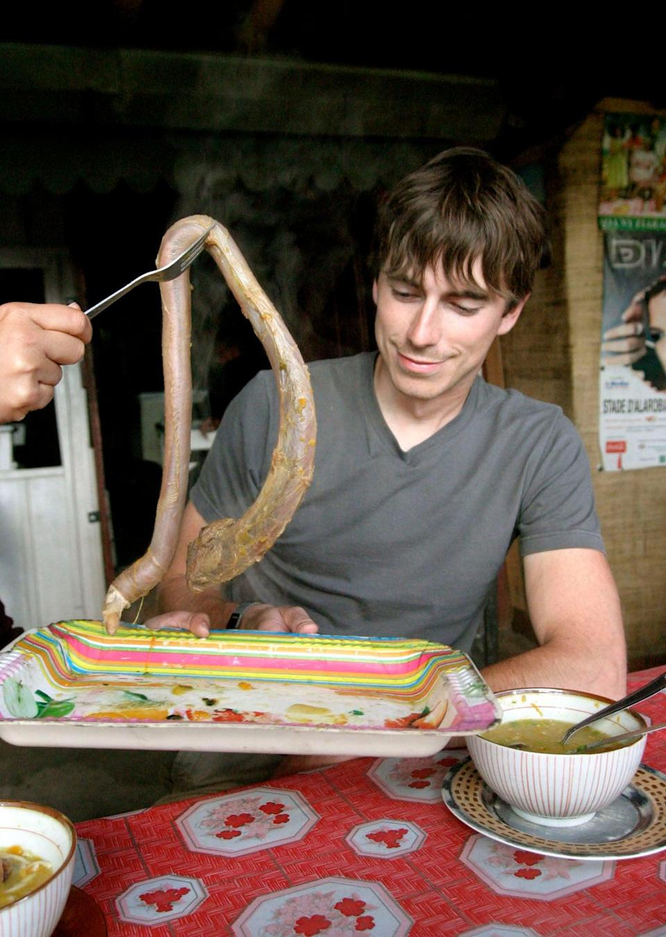 The one where…he eats soup madefrom Xebu (ox) penis in MadagascarBBC