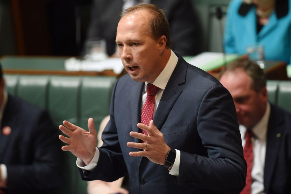 Immigration Minister Peter Dutton has said federal authorities will do all they can to assist Victorian police. Photo: AAP.