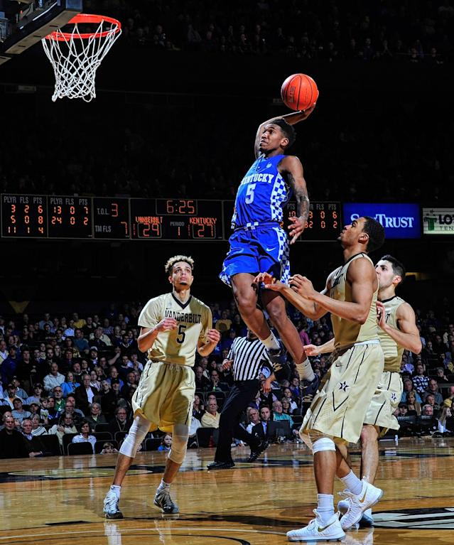 <p>It wouldn't be a list of NBA prospects without multiple Kentucky players on it, and Monk may be the cream of the crop this year. He leads the Wildcats in scoring (15.4 ppg) and is capable of ridiculous shooting outbursts. (See: Monk's 47-point game in a win over UNC). Monk is just 6-foot-3, 200 pounds, but with the way the NBA game is played today, there's no reason to think he can't fit in as a natural shooting guard and contribute immediately wherever he ends up. </p>