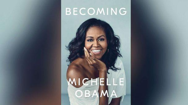 PHOTO: Book cover for Michelle Obama's new memoir, 'Becoming.' (Viking)