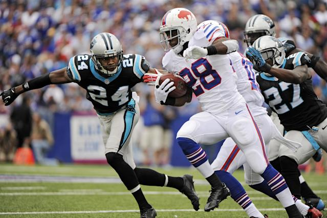 Rookie Manuel caps Bills' 24-23 win over Panthers