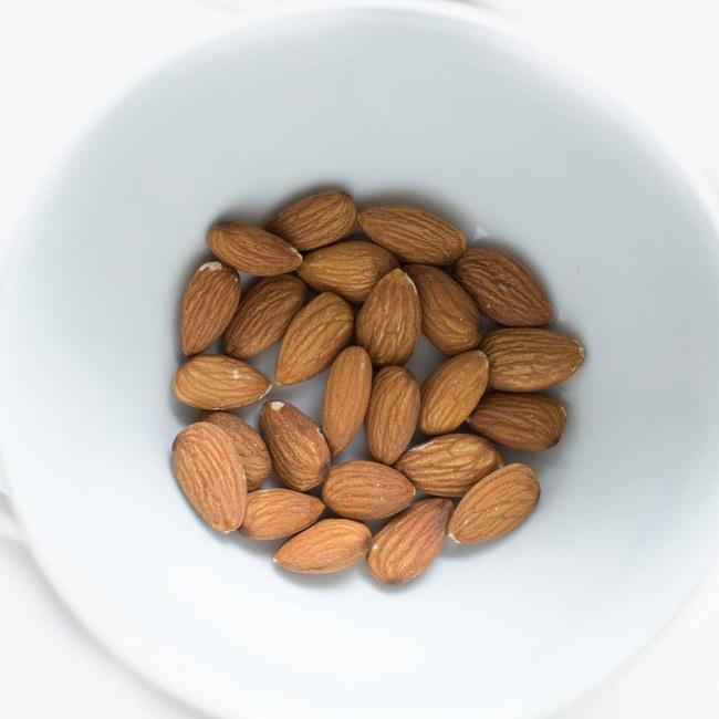 <p>* High protein keeps you going.</p><p>* Monounsaturated fats reduce the risk of heart disease.</p><p>* Rich source of vitamin E which protects against UV light damage.</p><p><b>Why not try: </b>unsalted almonds as an ice cream topper.</p><p><i>All information <i>credited to</i> Nuffield Health [Photo: Keegan Evans/Pexels</i><i>]</i></p>