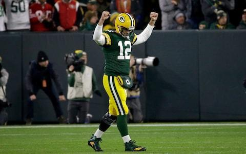 <span>Aaron Rodgers did what Aaron Rodgers does best against San Francisco</span> <span>Credit: (AP Photo/Mike Roemer) </span>