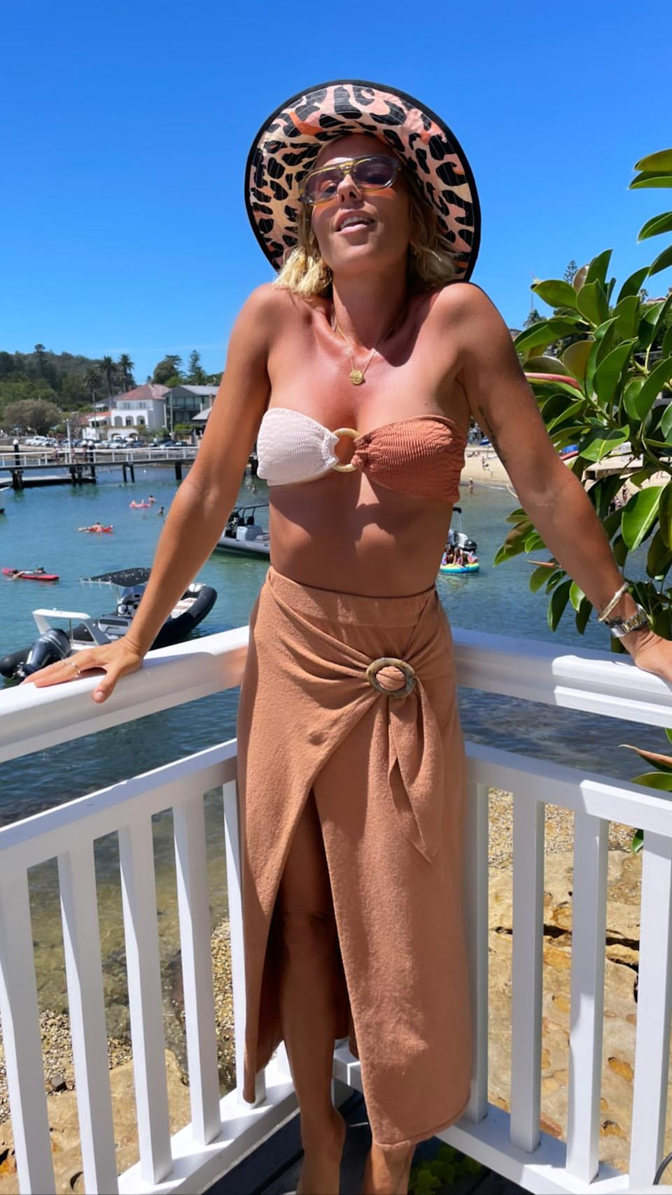 "PE Nation founder Pip Edwards has come under fire after sharing a ""gross"" and ""inappropriate"" Instagram post on Australia Day. Photo: Instagram/Pip Edwards"