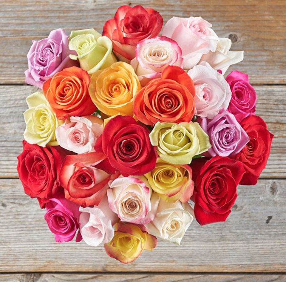 "<h3><strong>The Bouqs Co. Exuberance Bouquet</strong></h3> <br><strong>Best For: The Master's Grad<br>Budget: Under<br></strong> <strong>$50</strong><br>Surprise them with a bountiful bouquet of multicolored roses that is sure to brighten their unusual graduation day. <br><br><em>Shop <strong><a href=""https://bouqs.com/"" rel=""nofollow noopener"" target=""_blank"" data-ylk=""slk:The Bouqs Co."" class=""link rapid-noclick-resp"">The Bouqs Co.</a></strong></em><br><br><strong>The Bouqs Co</strong> Exuberance Colorful Rose Mix Bouquet, $, available at <a href=""https://go.skimresources.com/?id=30283X879131&url=https%3A%2F%2Fbouqs.com%2Fflowers%2Fall%2Fcolorful-rose-mix"" rel=""nofollow noopener"" target=""_blank"" data-ylk=""slk:The Bouqs Co"" class=""link rapid-noclick-resp"">The Bouqs Co</a><br><br><br><br>"
