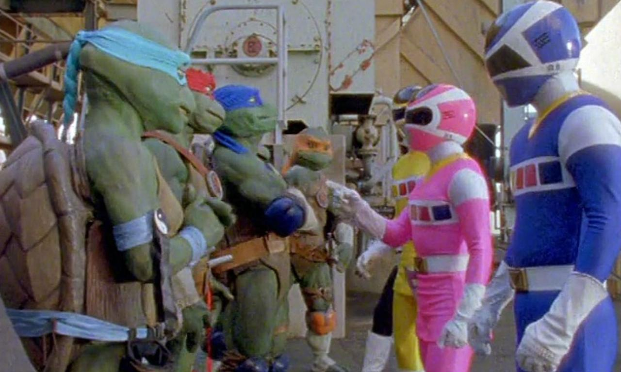 <p>This crossover episode took place during the<em> Power Rangers in Space</em> and <em>Ninja Turtles: The Next Mutation</em> series, and saw Astronema use her powers to make the Teenage Mutant Ninja Turtles evil, so they could con the Power Rangers into letting them on the Megaship, to help her take it over. </p>