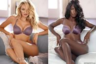 <p>Howard looking just as stunning as Candice Swanepoel in this Victoria's Secret campaign. </p>