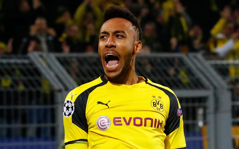 Aubameyang has attracted interest from all over Europe - REUTERS