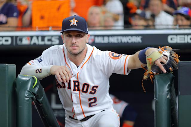 You can only contain Alex Bregman and the Houston Astros offense for so long. (Photo by Alex Trautwig/MLB Photos via Getty Images)