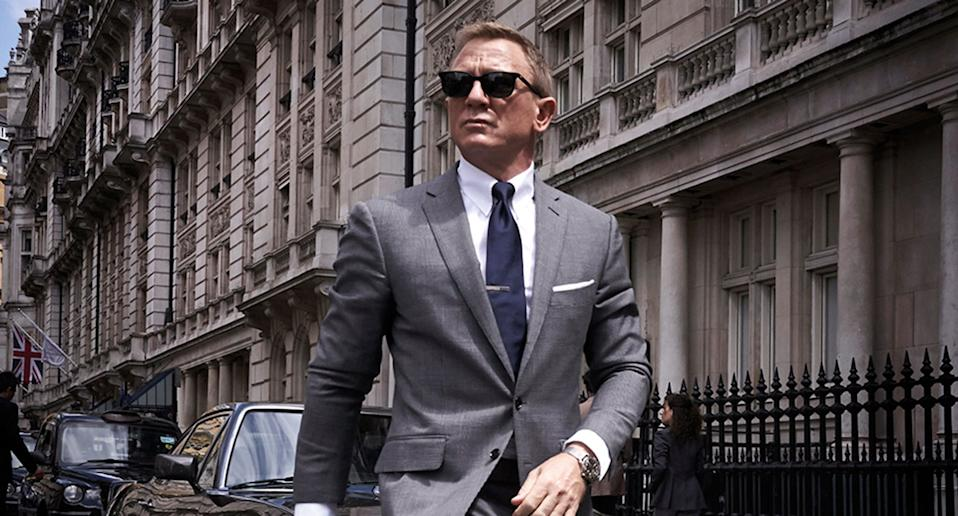Daniel Craig as Ian Fleming's James Bond 007 in No Time To Die. (Universal Pictures/EON)