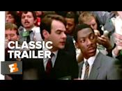 """<p><em>Trading Places </em>is perfect for a Friday night in with your friends where you just want to laugh at every single thing that exists in the world. Starring Eddie Murphy, Dan Ackroyd, and Jamie Lee Curtis, <em>Trading Places</em> is a modern take of Mark Twain's <em>The Prince and the Pauper</em>. Ackroyd and Murphy play an upper-class commodities broker and a homeless street hustler who have been unknowingly pitted against each other in an elaborate bet. It's guaranteed to make you laugh hysterically. I mean, Dan Ackroyd shoves a salmon in his pants. </p><p><a class=""""link rapid-noclick-resp"""" href=""""https://www.amazon.com/Trading-Places-Denholm-Elliott/dp/B00119XQHI?tag=syn-yahoo-20&ascsubtag=%5Bartid%7C10058.g.23305370%5Bsrc%7Cyahoo-us"""" rel=""""nofollow noopener"""" target=""""_blank"""" data-ylk=""""slk:WATCH IT"""">WATCH IT</a></p><p><a href=""""https://www.youtube.com/watch?v=lhAilpSsL4k"""" rel=""""nofollow noopener"""" target=""""_blank"""" data-ylk=""""slk:See the original post on Youtube"""" class=""""link rapid-noclick-resp"""">See the original post on Youtube</a></p>"""