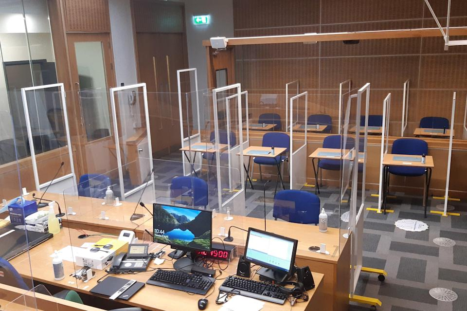 The new crown court at Hendon will help tackle the backlog (Tristan Kirk)