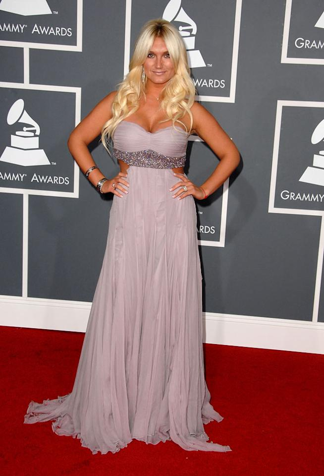"<a href=""/brooke-hogan/contributor/1279767"">Brooke Hogan</a> arrives at the 51st Annual Grammy Awards at the Staples Center on February 8, 2009, in Los Angeles."