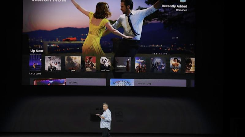 Apple unveils new 4K television
