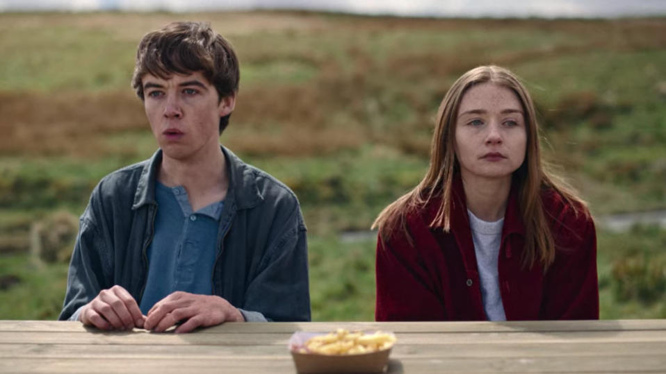 'The End of the F***ing World'. (Credit: Channel 4)