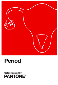Pantone Period has been inspired by periods and designed to help tackle menstruation stigma. (Pantone/INTIMA)