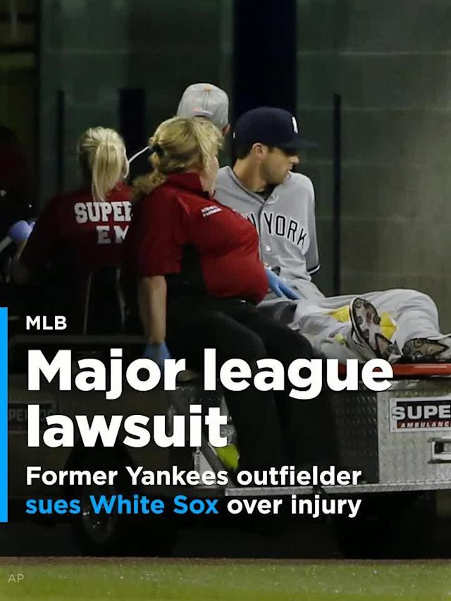 Former New York Yankees outfielder Dustin Fowler is suing the Chicago White Sox and the state agency that manages Guaranteed Rate Field after suffering a season-ending injury in his major league debut at the ballpark on June 29.