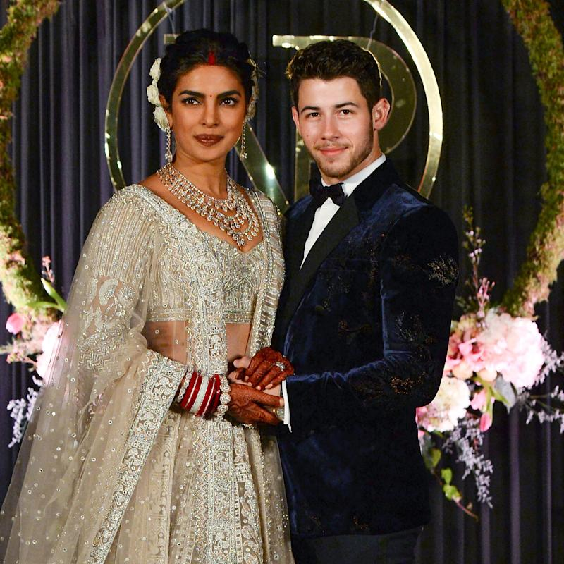 Priyanka Chopra Plays Up Her Post-Wedding Glow—and Bridal Henna—With This Makeup Trick