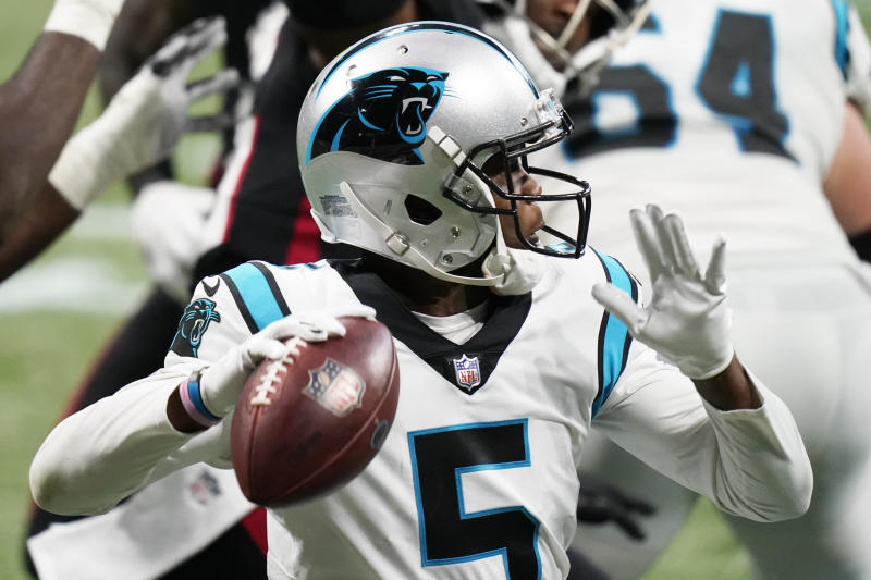 Teddy Bridgewater is doing a tremendous job for the Carolina Panthers. (AP Photo/Brynn Anderson)
