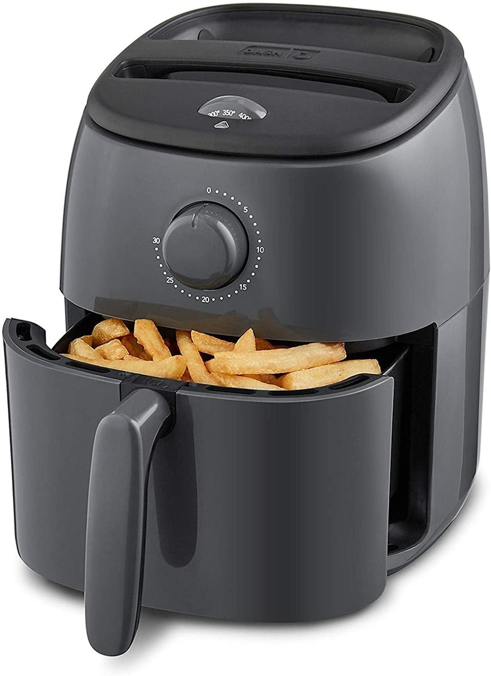 <p>The <span>Dash Tasti Crisp Electric Air Fryer</span> ($45, originally $60) is a great affordable air fryer. You can make the crispiest snacks only using a minimal amount of oil and butter. </p>
