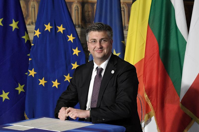 Croatia's Prime Minister Andrej Plenkovic triggered the collapse of the ruling coalition after sacking several ministers
