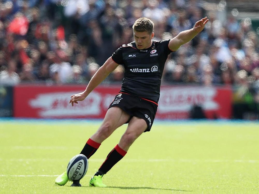 Will Owen Farrell be the only back-up fly-half in the squad (Getty)