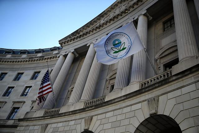 EPA headquarters in Washington. (Photo: Justin Sullivan/Getty Images)
