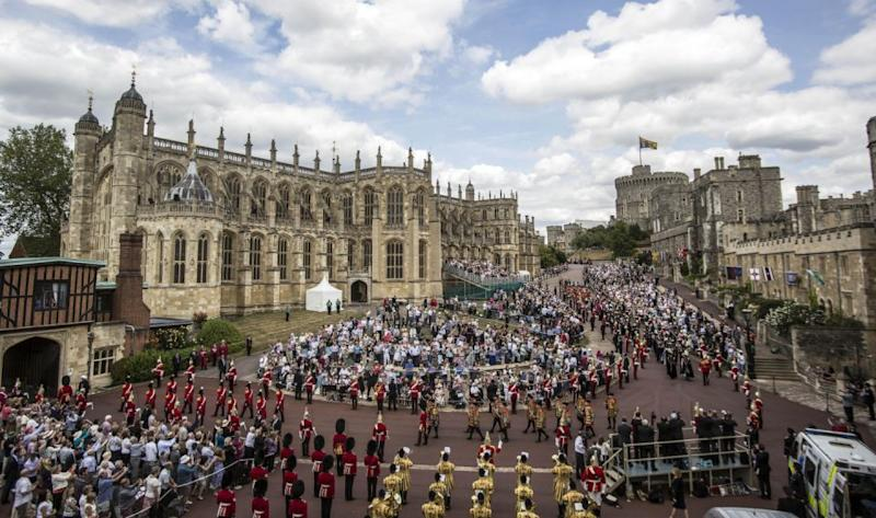 They've chosen to get married in Windsor Castle instead of Westminster Abbey. Photo: Getty Images