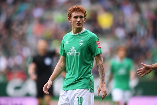 Josh Sargent didn't get off the bench in Werder Bremen's 3-2 loss to Hoffenheim. (Getty)