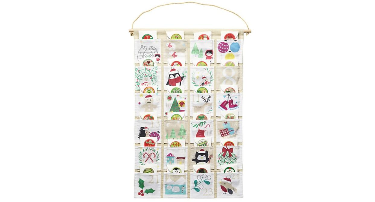 Hanging Fabric Fill Your Own Advent Calendar (Lakeland)