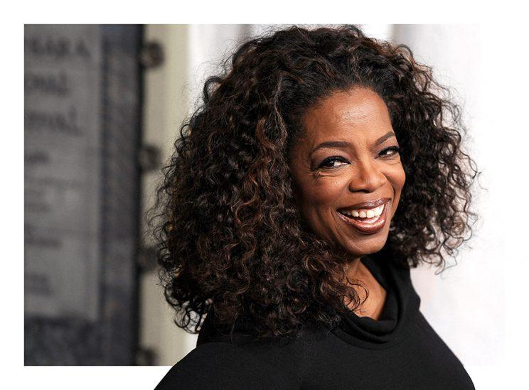 You can always count on Oprah for great advice, and amazing hair. (Photo: Getty Images)