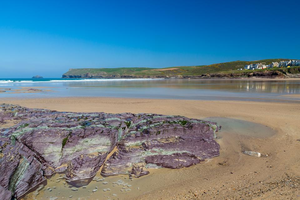 House prices in Polzeath, which has a lovely sandy beach, have shot up (Getty Images)