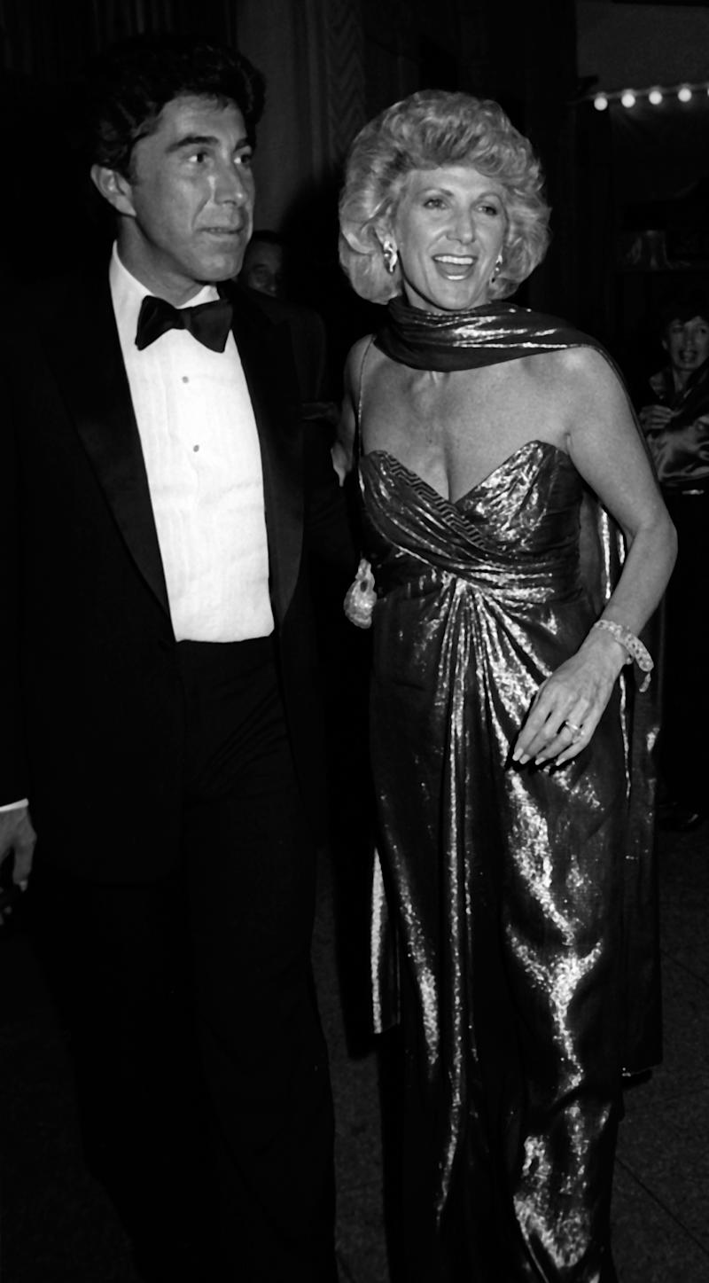 Steve Wynn and Elaine Wynn attend Frank Sinatra Concert After Party on September 6, 1985 at Le Cirque Restaurant in New York City.