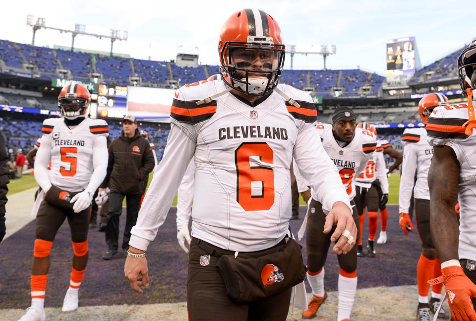 The Browns have finally found the center of their universe and now they must surround his orbit with quality support. (Photo by: 2018 Nick Cammett/Diamond Images/Getty Images)