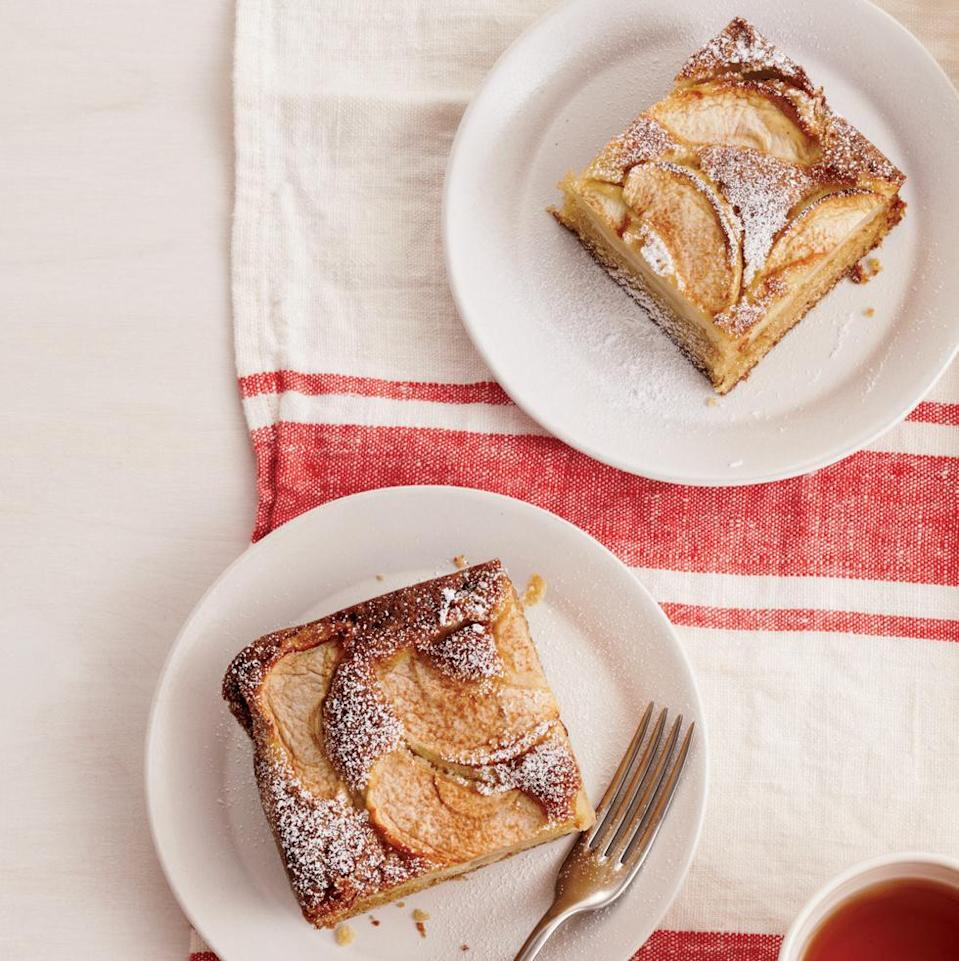 """<p>If you're presenting a birthday cake dessert to someone who likes simple, fresh, or seasonal flavors, a basic apple spice cake could be a great choice. Pair it with some homemade vanilla ice cream for an extra treat. </p><p><em><strong><a href=""""https://www.womansday.com/food-recipes/food-drinks/recipes/a12084/gamas-apple-spice-cake-recipe-wdy0912/"""" rel=""""nofollow noopener"""" target=""""_blank"""" data-ylk=""""slk:Get the Apple Spice Cake recipe."""" class=""""link rapid-noclick-resp"""">Get the Apple Spice Cake recipe.</a></strong></em></p>"""