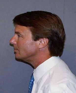 Edwards at a photo shoot in June for the US Marshals Service.